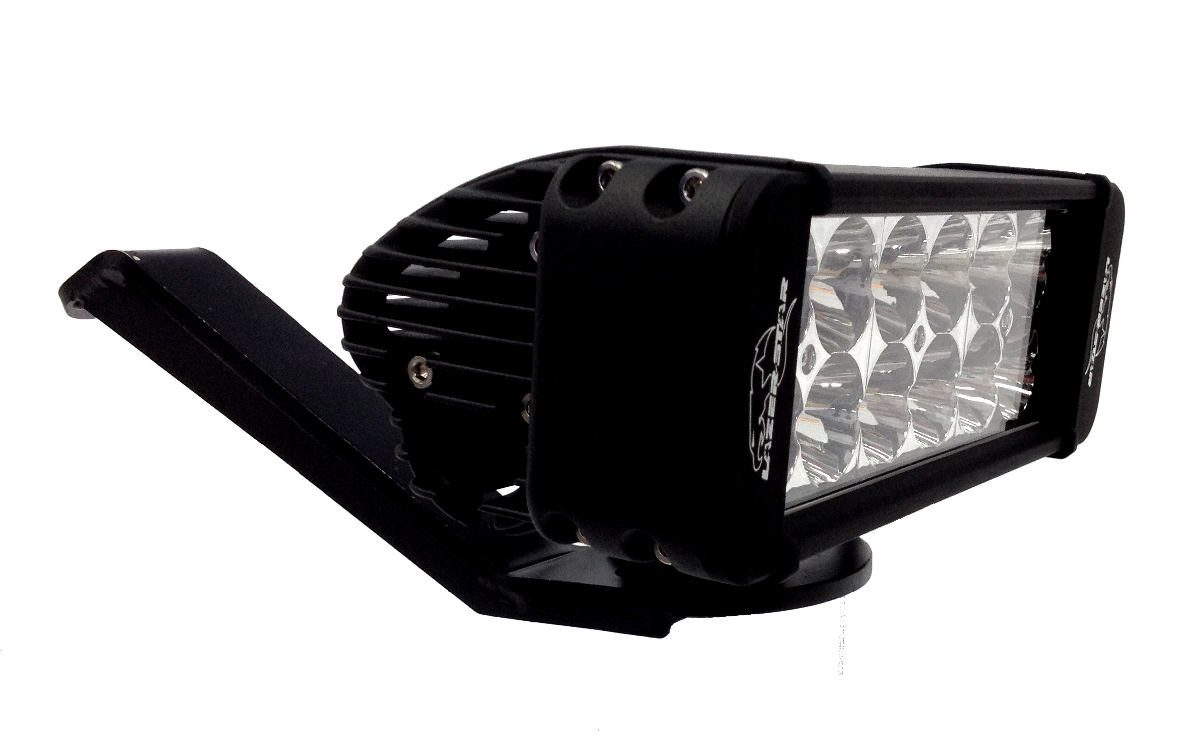 Lazer star lights offering led light handlebar kits for sport atvs lazer star lights lx led atv handlebar kit pictured here with the 8 endeavour 3 mozeypictures Choice Image