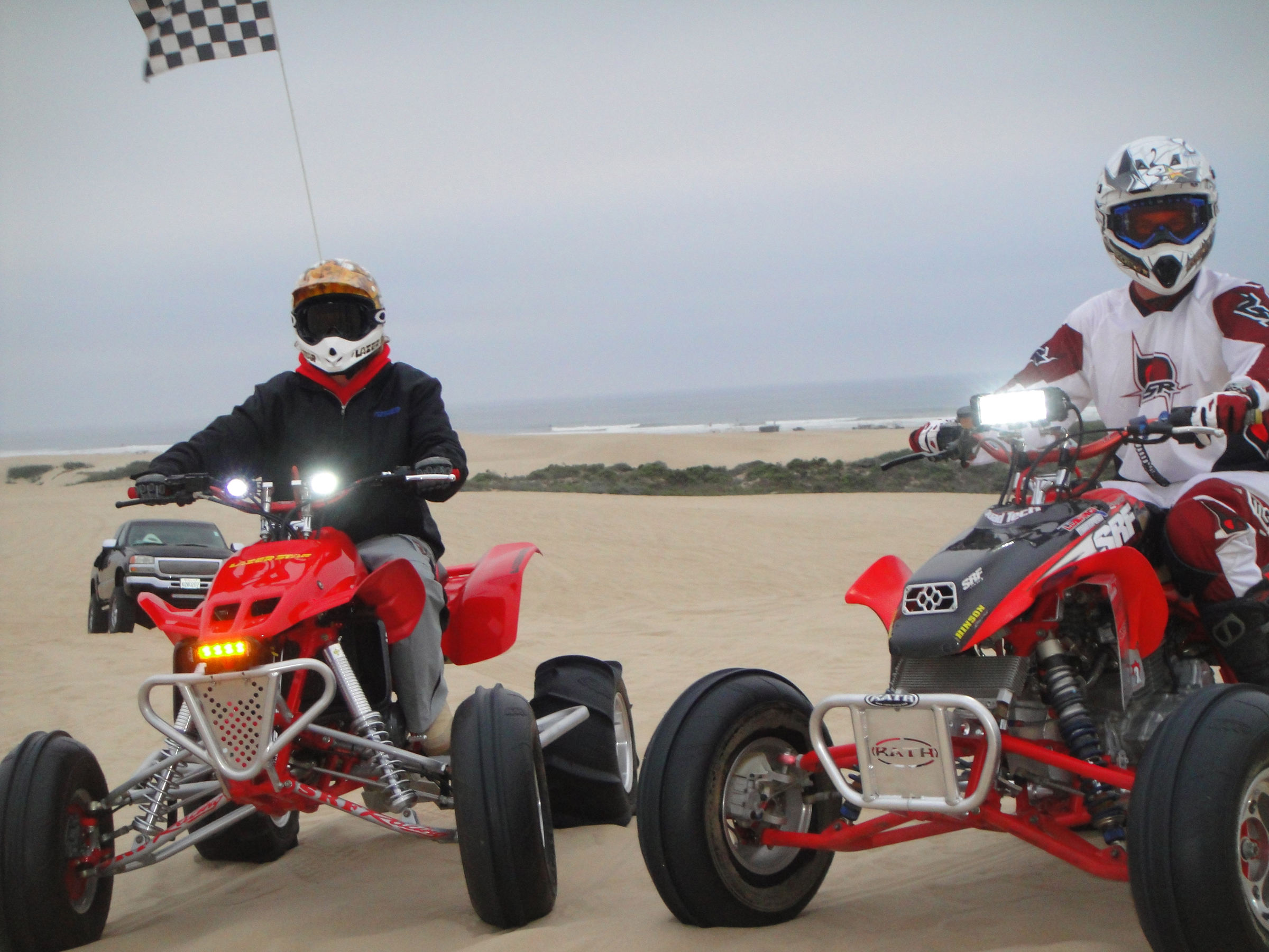 Lazer star lights offering led light handlebar kits for sport atvs mozeypictures Choice Image