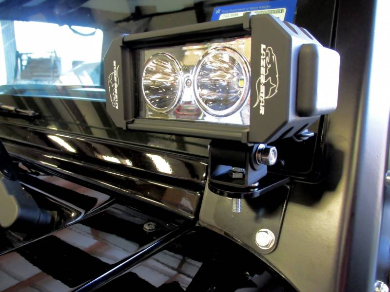 Lazer Star Jeep Kit 10 Watt Led Light Windshield Bracket
