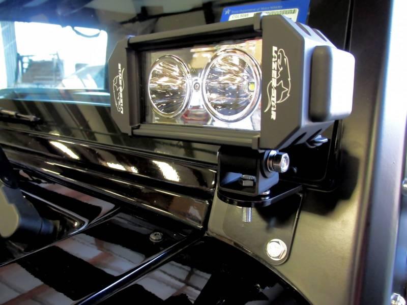 Motorcycle Led Kit >> Lazer Star Jeep Kit 10 Watt LED Light Windshield Bracket