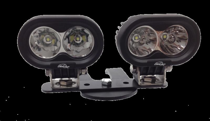 Lazer Star 10 Watt LED Light 9993043 ATV Handlebar Kit
