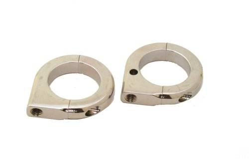 Lazer star lsm chrome inch tube clamp