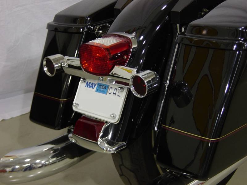 Lazer Star Lights Harley Lsm100 License Plate Relocator