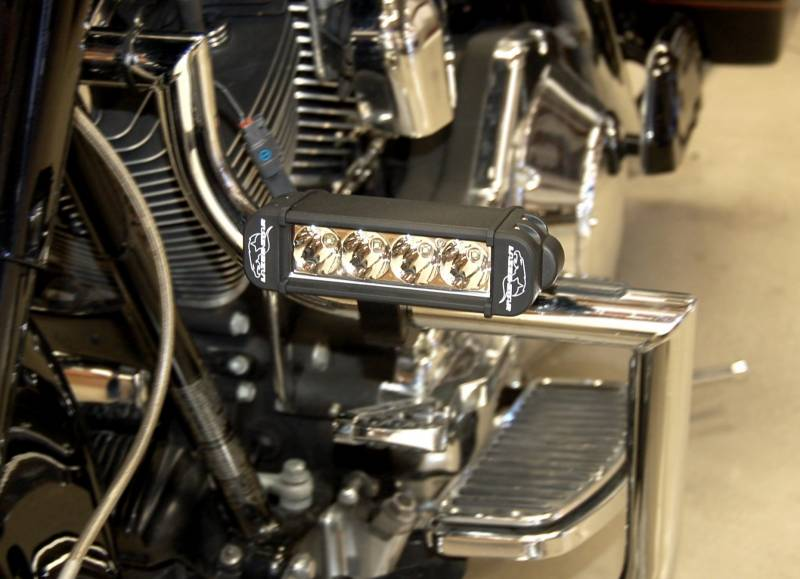 Lazer star lights 3 watt led light bar clamp kit lxk0304 125 6 atlantis light bar motorcycle aloadofball Image collections