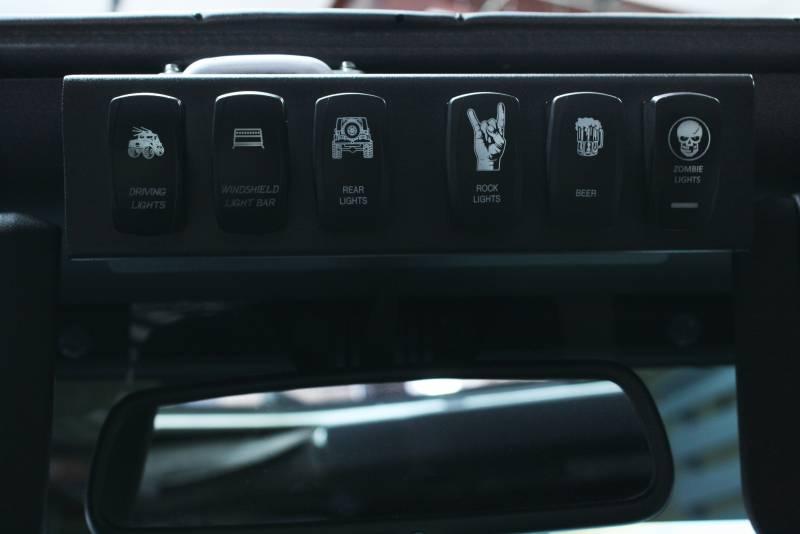 Lazer Star Lights Jeep Jk Wire Controller Kit 555925