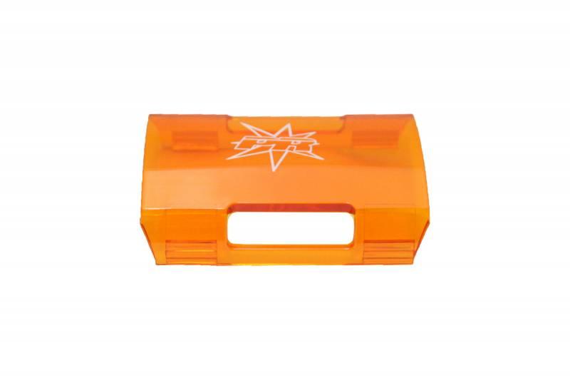 Lazer star amber single row light bar cover segment short 7770 10 dominator led dominator single row light bar cover short segment amber aloadofball Choice Image