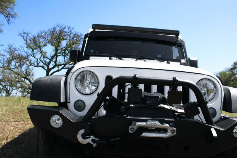 Lazer star clear single row light bar cover segment short 7770 08 dominator single row light bar cover aloadofball Images