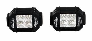 LX LED  - Pair 4 Inch Endeavour 3 Watt Flood 4 LED 2304029