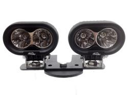 LX LED  - 4 Inch 10 Watt Spot 2 LED 9993003 LX ATV Handlebar Kit