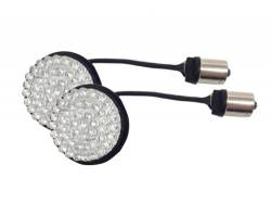 Lazer Star Billet Lights - Red Full Face LED Retro Fit LEDK53-156R