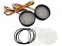 Lazer Star Billet Lights - Amber LED Conversion Kit LEDK53AM Bullet & Shorty