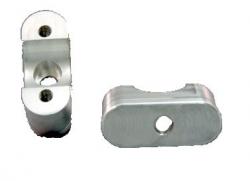 Lazer Star Billet Lights - Polished Oversized Lower Clamp For Honda/ANTI-VIB ATV Bars LSM150-HL
