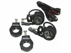 LX LED  - 10 Watt Single Enterprise Motorcycle LED Light Kit