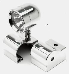 Lazer Star Billet Lights - 35/20 Watt ATVY357-4100-B ATV-Banshee Polished Stock Location Kit