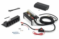 Jeep JK Wire Controller w/ 6-Switch Rocker Panel in Enclosed Housing Kit 555925