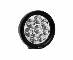 LX LED  - 4 Inch Endeavour 3 Watt Spot 8 LED 330801 Round Utility