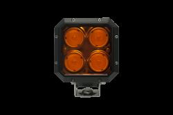 LX LED  - 20 Watt Quad 40° Flood Amber Lens LXh LED