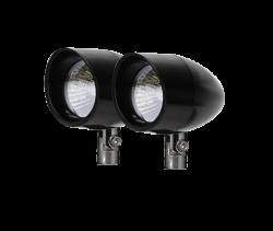 Vizor - 50 Watt Pivot Mount Black V8250 Large Vizor