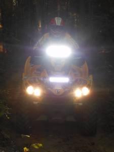 LX LED  - 6 Inch Endeavour 3 Watt Spot 8 LED 23080 Racer Special Amber/White LED - Image 7