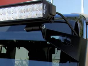 LX LED  - 52 Inch Endeavour 3 Watt Combi Jeep Kit 5592310 A-Pillar High Light Bracket - Image 2