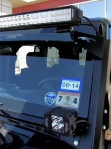 LX LED  - 3 Watt Hi-Lo Jeep Bracket Kit 55923109 - Image 2