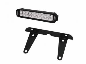 Applications - UTV Lighting - LX LED  - 12 Inch Endeavour 3 Watt Spot 2002320 License Plate Light Bracket Kit