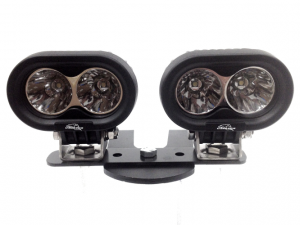 ATV Light Kits - LED & HID ATV Kits - LX LED  - 4 Inch 10 Watt Spot 2 LED 9993003 LX ATV Handlebar Kit