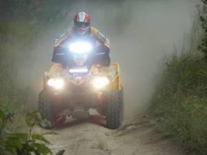 LX LED  - 8 Inch 3 Watt Spot 12 LED 9993022 LX ATV Handlebar Kit - Image 2