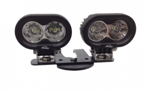 ATV Light Kits - LED & HID ATV Kits - LX LED  - 4 Inch 10 Watt Spot 2 LED 9993023 LX ATV Handlebar Kit
