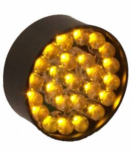 Featured - LED Signal Lights - Lazer Star Billet Lights - Amber LED Replacement Board for Micro-B LED33AM