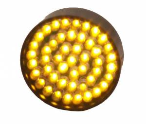 LED Signal Lights - LED Signal Lights Spare / Replacement Parts - Lazer Star Billet Lights - Amber LED Replacement Board for Bullet/Shorty LED53AM