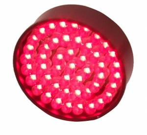LED Signal Lights - LED Signal Lights Spare / Replacement Parts - Lazer Star Billet Lights - Red LED Replacement Board for Bullet/Shorty LED53RE