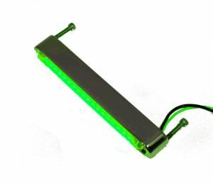 Lazer Star Billet Lights - Green 4 Inch LS534G-2  BilletLED Back Mount - Image 1
