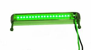 Lazer Star Billet Lights - Green 4 Inch LS544G BilletLED Bottom Mount - Image 1