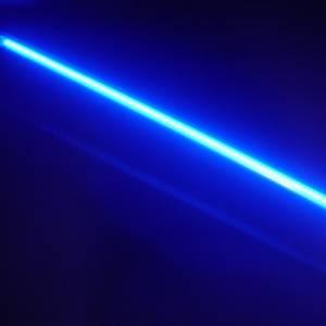 Lazer Star Billet Lights - Blue 7 Inch LS547B-3  BilletLED Tube Mount - Image 2