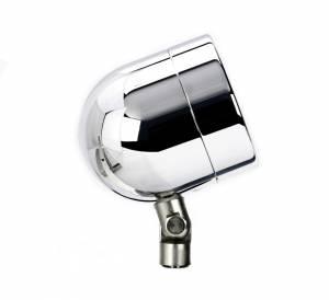 Lazer Star Billet Lights - 75-Watt Flood Pivot Mount Chrome LSK48752 Shorty - Image 3