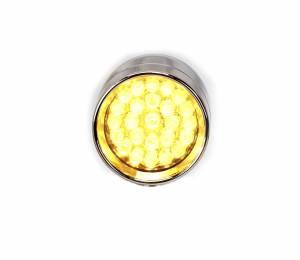 Lazer Star Billet Lights - Amber Rigid Mount Chrome LSK73801A-R Point Line Micro-B - Image 5