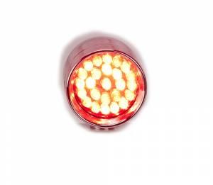 Lazer Star Billet Lights - Red Rigid Mount Chrome  LSK73801R-R Point Line Micro-B - Image 5