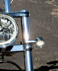 Lazer Star Billet Lights - 39 mm Chrome Finish LSM048-3139 Billet Tube Clamp - Image 2
