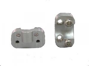 Lazer Star® Billet Lights - Mounting Solutions - Lazer Star Billet Lights - LSM150-YL  Oversize Lower Clamp For Yamaha Narrow ATV