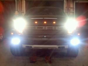 LX LED  - 28 Inch Endeavour 3 Watt Spot 52 LED23520 Racer Special Amber/White LED - Image 9