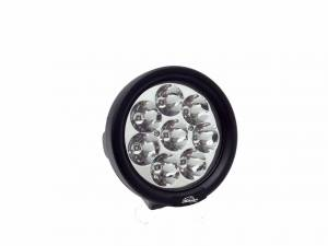 LX LED Lights - Utility LED Lights - LX LED  - 4 Inch Endeavour 3 Watt Spot 8 LED 330801 Round Utility