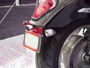 Vizor - Red Rigid Mount Chrome V5801R Small Vizor - Image 2