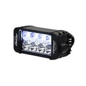 LX LED Lights - 3 Watt Racer Series LED - LX LED  - 6 Inch Endeavour 3 Watt Spot 8 LED 23080 Racer Special Amber/White LED