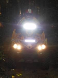 LX LED  - 6 Inch Atlantis 3 Watt Spot 4 LED 13040104 Amber LED - Image 7