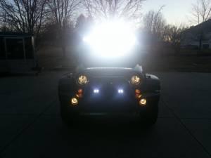 LX LED  - 6 Inch Atlantis 3 Watt Spot 4 LED 13040104 Amber LED - Image 8