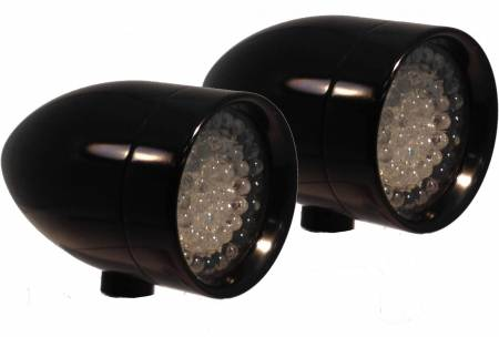 Lazer Star® Billet Lights - LED Signal Lights - Bullet LED Signal Lights