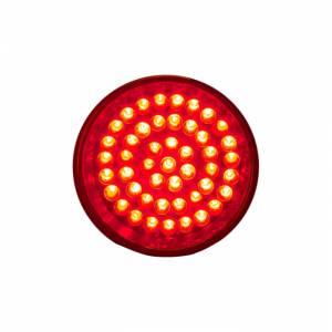 Lazer Star Billet Lights - Red Pivot Mount Black LSK4201R Shorty - Image 3