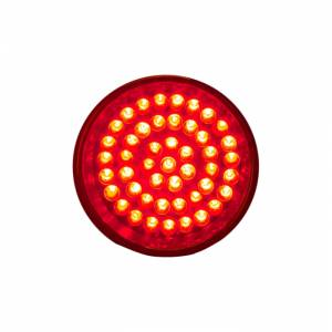 Lazer Star Billet Lights - Red Rigid Mount Black LSK4201R-R Shorty - Image 2