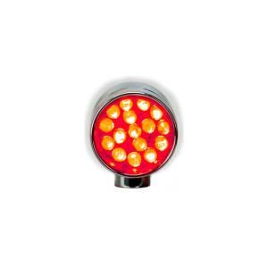 Lazer Star Billet Lights - Red Rigid Mount Polished LSK6101R-R XS - Image 2